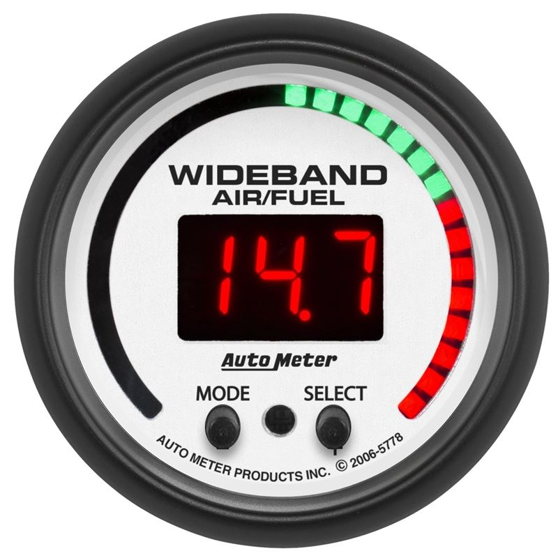 Autometer 5778 2 16 In  Wideband Pro Air  Fuel Ratio